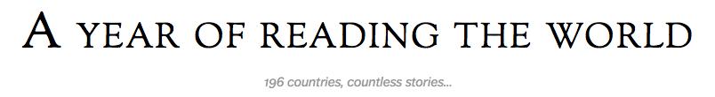 Year of Reading Around World
