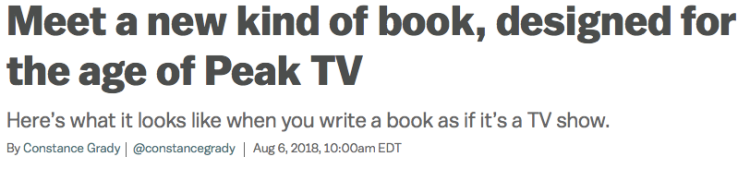 TV Novel