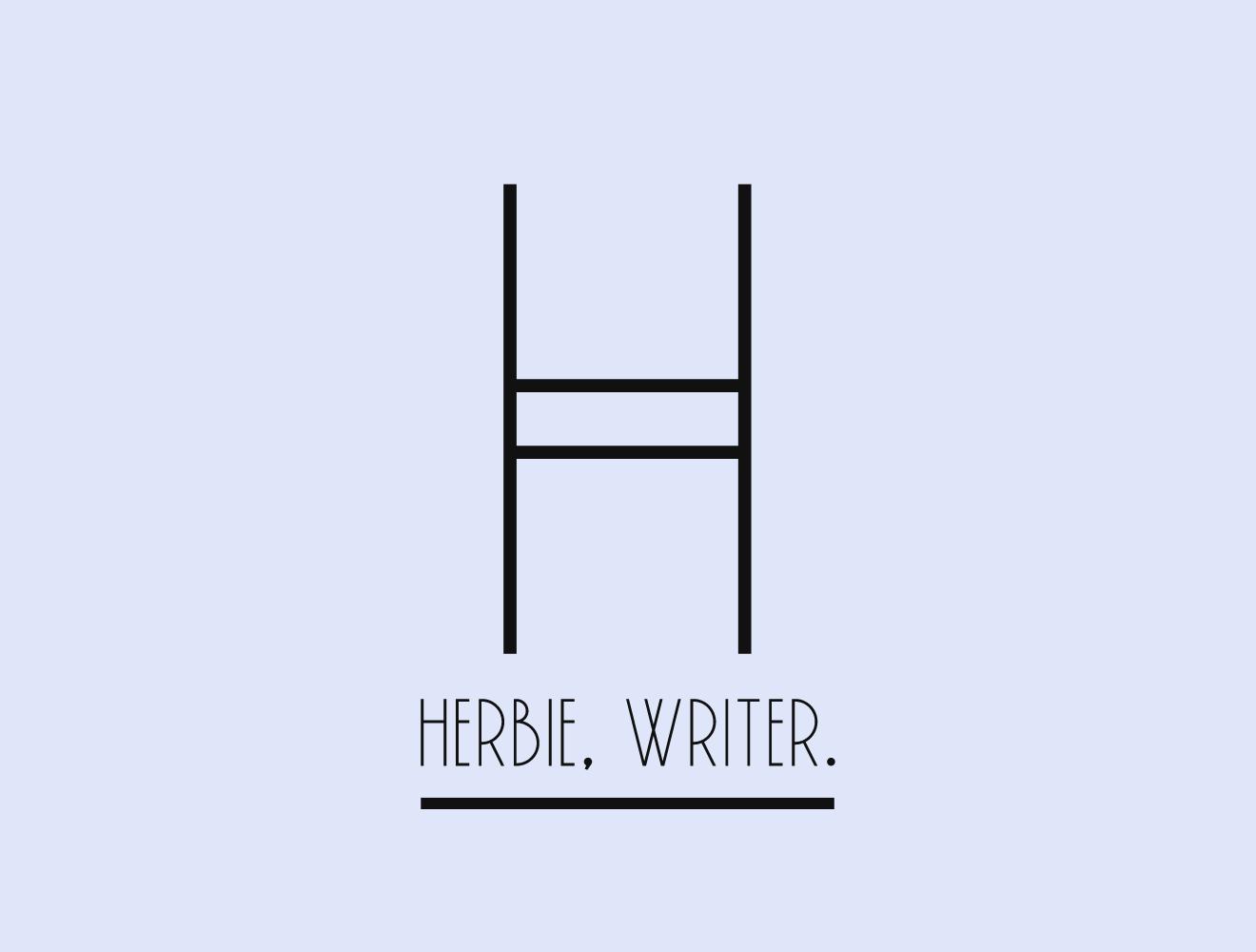 Herbie, Writer.